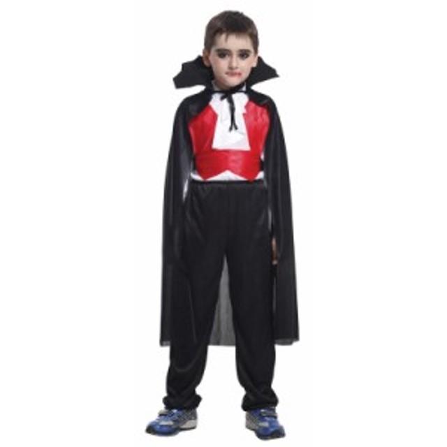 ハロウィン バンパイア ドラキュラ 吸血鬼 コスプレ 仮装衣装 ハロウィーン クールヴァンパイア 子供用 子供服