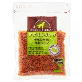 九州ペット ササミふりかけ ササミと野菜の小粒タイプ 230g