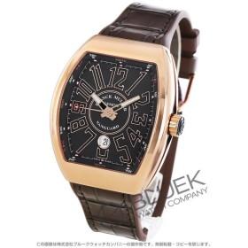 8c0decf87f フランクミュラー ヴァンガード PG金無垢 クロコレザー 腕時計 メンズ FRANCK MULLER V 45 SC DT 5N NR 通販  LINEポイント最大0.5%GET   LINEショッピング【公式】