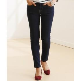 すごく伸びるデニムスキニーパンツ(股下72cm) (レディースパンツ),pants