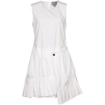 《期間限定セール開催中!》ROBERTA FURLANETTO レディース ミニワンピース&ドレス ホワイト 42 コットン 100%