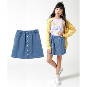ニットデニムスカパン(女の子 子供服。ジュニア服) パンツ