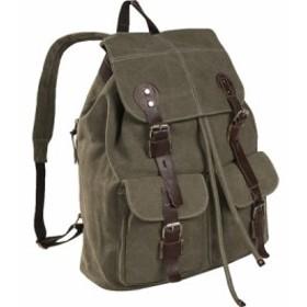 ルレックス バッグ バッグパック リュックサック メンズ【Laurex Vintage Design Backpack 8224】Olive