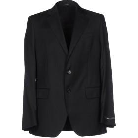 《セール開催中》GRISBY メンズ テーラードジャケット ブラック 56 バージンウール 100%