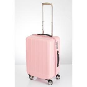 【ACTUS】ジッパーキャリー シャワー 【3-4泊対応】 ピンク