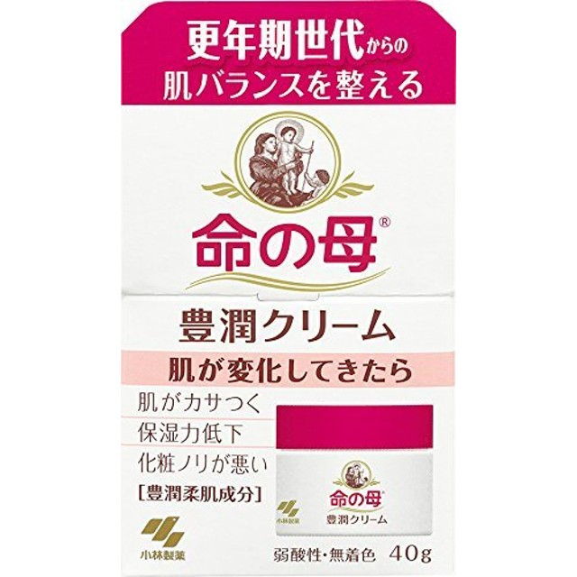 小林製薬 命の母 豊潤 柔肌クリーム 40g