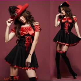 ハロウィン Halloween コスプレ 大人用 コスチューム 仮装 魔女 ワンピース