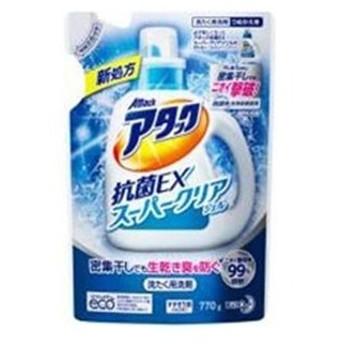 花王 アタック抗菌EX スーパークリアジェル つめかえ用 770g
