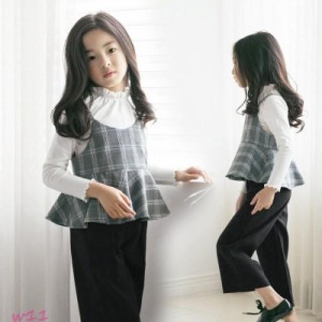 ef8618094e6c6 子供服 3点セット 女の子 白いTシャツ キッズ 夏服 お出かけ 可愛い キャミソール おしゃれ ジュニア