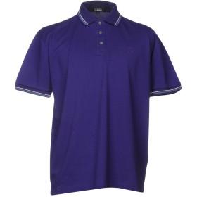 《期間限定セール開催中!》TRUSSARDI ACTION メンズ ポロシャツ パープル S コットン 100%