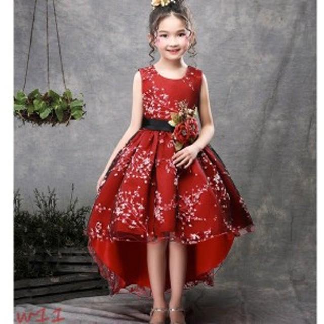 6a3fb7b1c3431 新品セール 素敵な子供ドレス ピアノ発表会 ドレス ジュニア 花嫁 キッズロングドレス 子供