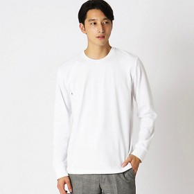 <COMME CA ISM (メンズ)> タートルネック Tシャツ(4761TI15) ホワイト 【三越・伊勢丹/公式】