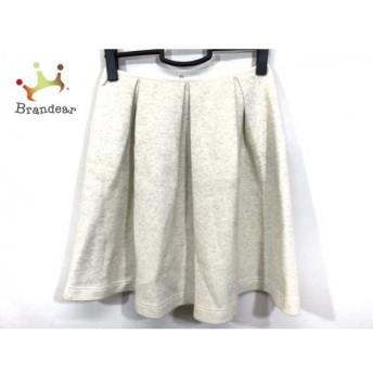 ダイアグラム Diagram GRACE CONTINENTAL スカート サイズ38 M レディース 美品 アイボリー スペシャル特価 20190904