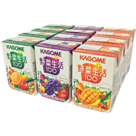 野菜生活100 3種アソート (100mL12本入)