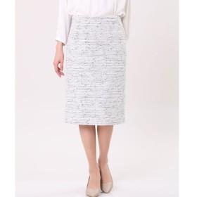 INED / ツイードタイトスカート
