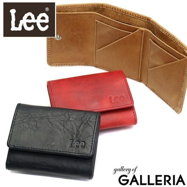 1e87a4f26172 Lee 財布 LEE リー spazio 三つ折り財布 小銭入れ BOX型 レザー 革 メンズ レディース