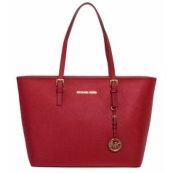 マイケルコース トートバッグ ハンドバッグ レディース【Michael Kors Jet Set Travel Tote Bag】Bright-Red