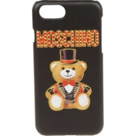 5d5710a3b791 モスキーノ スマホケース iPhoneケース レディース【Moschino Bear Iphone7 Case】Nero