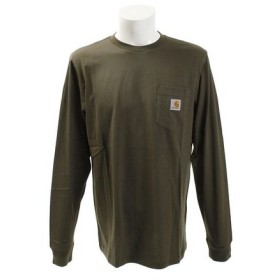 カーハート(CARHARTT) 長袖 ポケット Tシャツ I022094630018F (Men's)