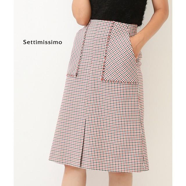 【セール開催中】ANAP(アナップ)portcrosフリンジアウトポケットタイトスカート