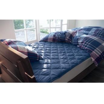 布団カバー シーツ 敷きパッド パッドシーツ ベルメゾンデイズ 綿100%の敷きパッド 「アイボリー」