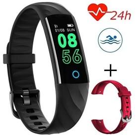 スマートブレスレット スマートウォッチ 防水 心拍計 血圧計 活動量計 リストバンド 歩数計 多機能 スポーツウォッチ