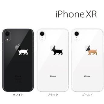 スマホケース iphoneXR スマホカバー 携帯ケース アイフォンxr iphonexr ハード カバー ドック犬(ミニチュアダックス)