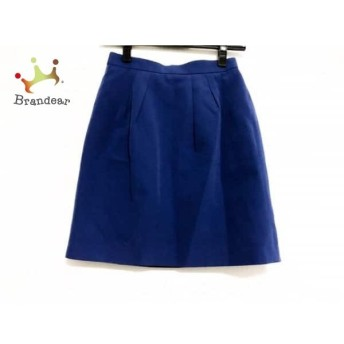 アプワイザーリッシェ Apuweiser-riche スカート サイズ0 XS レディース 美品 ブルー スペシャル特価 20190522
