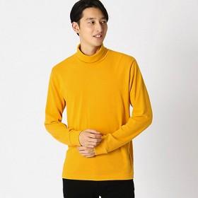 <COMME CA ISM (メンズ)> タートルネック Tシャツ(4761TI13) マスタード 【三越・伊勢丹/公式】