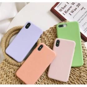 シンプル マカロン色 iPhoneXR ケース iPhoneXS Max ケース iPhoneXS/X ケース iPhone7/8 ケース iPhone7p/8p ケース 全機種対応