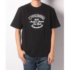 【55%OFF】マックレガー復刻版 アイビー半袖TシャツメンズブラックLL【McGREGOR】【タイムセール開催中】