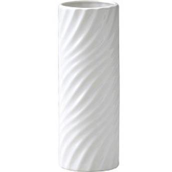 グリーンハウス モノクロームフラワーベース M 003-B-W ホワイト(1コ入)[インテリア 収納 寝具 その他]
