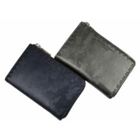 KATHARINE HAMNETT キャサリンハムネット ボンド メンズ ミドルボックス L字ファスナー二つ折り財布(小銭入れあり) 50201