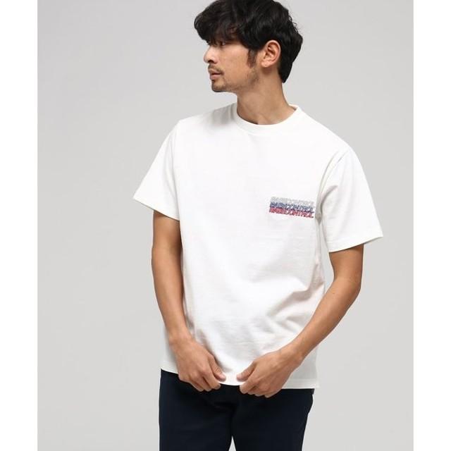 BASE STATION / ベースステーション 【WEB限定】ベースコントロールT 胸トリコ刺繍 半袖Tシャツ