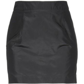 《期間限定セール開催中!》JOHN RICHMOND レディース ミニスカート ブラック 40 シルク 100%