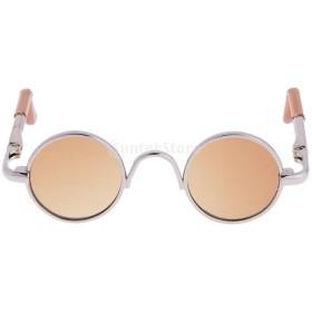 人形用 ラウンド  メガネ  アイウェア  1/3 BJD SD DODドール用  素晴らしいコレクション 全9色選べる  - 4