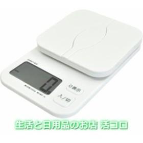 ドリテック デジタルスケール パカット 2kg ホワイト KS-257WT