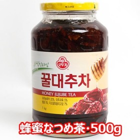 オットギ 蜂蜜 なつめ茶 瓶 500g 韓国 伝統茶 健康茶 蜂蜜入お茶 食品 食材 お土産 お中元 はちみつ ハチミツ