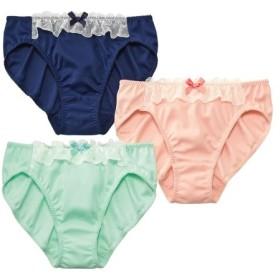 フリルレースショーツ3枚組 スタンダードショーツ,Panties