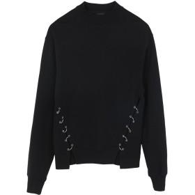 《送料無料》ALLSAINTS レディース スウェットシャツ ブラック S コットン 100% MORA SWEAT