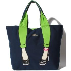 【20%OFF】 ラプラスボックス mis zapatos スキニーパンツトート レディース ネイビー F 【Laplace box】 【タイムセール開催中】