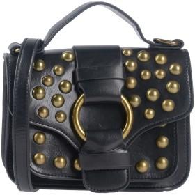 《期間限定セール開催中!》ESSENTIEL ANTWERP レディース ハンドバッグ ブラック ポリウレタン 100% Pagode small shoulderbag