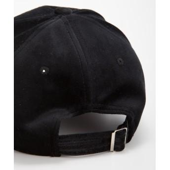キャップ - SpRay ベロアロゴ刺繍CAP