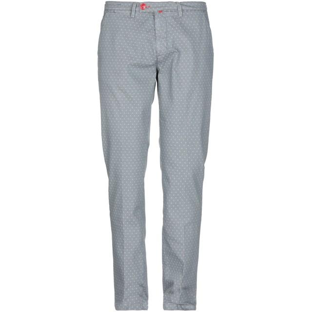《セール開催中》BARONIO メンズ パンツ 鉛色 35 コットン 80% / ポリエステル 17% / ナイロン 3%