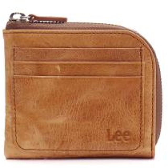 0ba52755e5ac Lee 財布 LEE リー spazio L字ファスナー 小銭入れ LFショートウォレット レザー 革 コンパクト