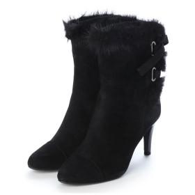 ストロベリーフィールズ STRAWBERRY FIELDS ブーツ (ブラックスエード)