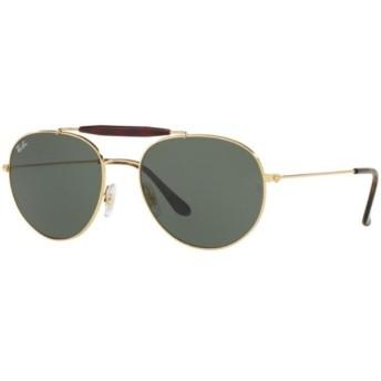 サングラス(ゴールド×ライトハバナ/グリーンクラシックG-15)RB3540 001 56mm