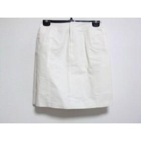 ハロッズ HARRODS ミニスカート サイズ1 S レディース アイボリー【中古】