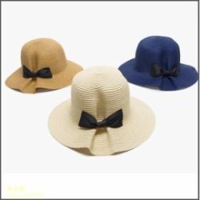 帽子レデイース春 夏収納 麦わら帽子 折りたたみ可 つば広ハット 女性用サンバイザー 日焼けグッズ飛ばないナチュラルブリム日よけ大きい