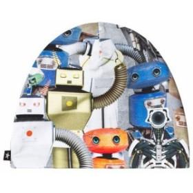モロ ニット帽 ビーニー帽 キッズ 男の子【Molo Multi Ned Robots Hat】